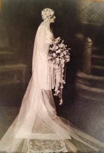 Marion Burton Wedding photo